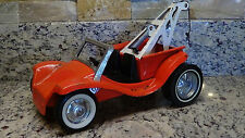 rare 1960's vintage NyLint orange VW Lil Tow Dune Buggy pickup tow truck hot rod