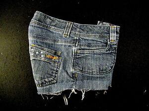 Daisies 27 Denim Low Wrangler Girl Cutoff Jean rise Hot Tagliate Shorts 1ffa5qwpx