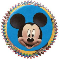 PAPER BAKING CUPS ~ MICKEY MOUSE ~ Made In USA ~ Wilton