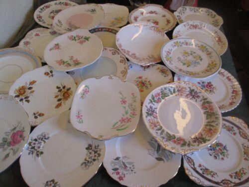 platos fiestas bodas y confiterías Vintage etc Un montón de trabajo no coincide China tazas