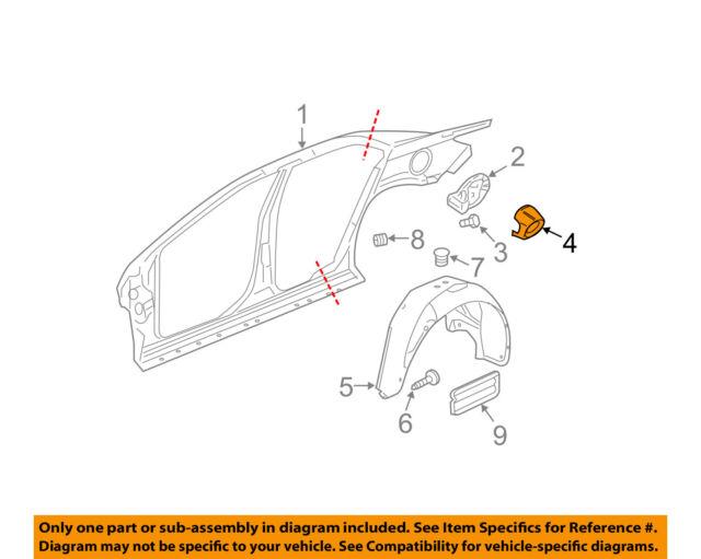 Chevrolet GM OEM 16-18 Malibu Front Bumper-Lock Support 23328042