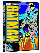 The Adventures of Batman 1968 TV series complete Animated DC R2/UK  2 DVD Box