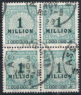Zielstrebig Korbdeckel Minr 314ap Im Viererblock Gestempelt Verkaufsrabatt 50-70% Briefmarken
