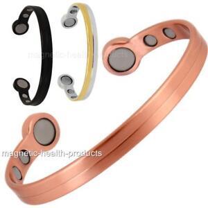 extra-fort-bio-aimants-cuivre-bracelets-magnetique-arthrite-Soulagement-Douleur