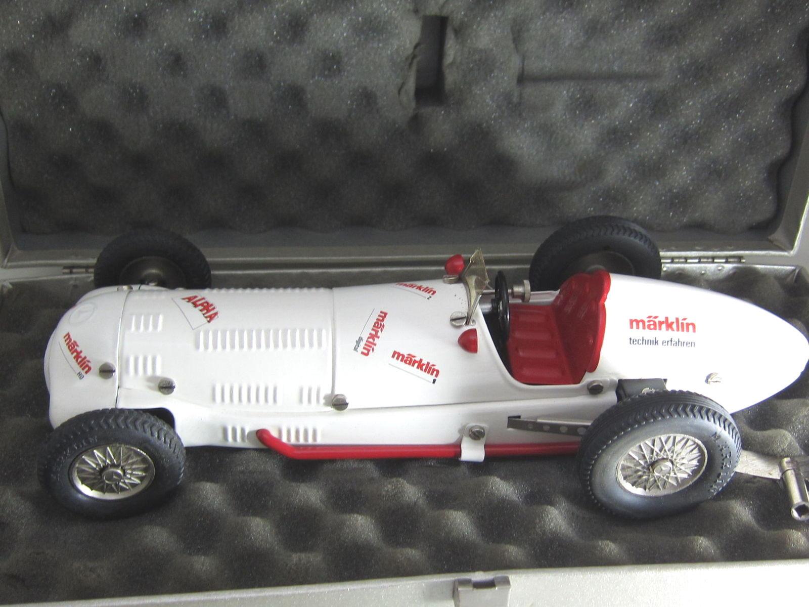 Märklin 1097 auto da corsa 154 ALFA bianco bianco bianco MB w-154 MATTONCINI CON BOX 248314