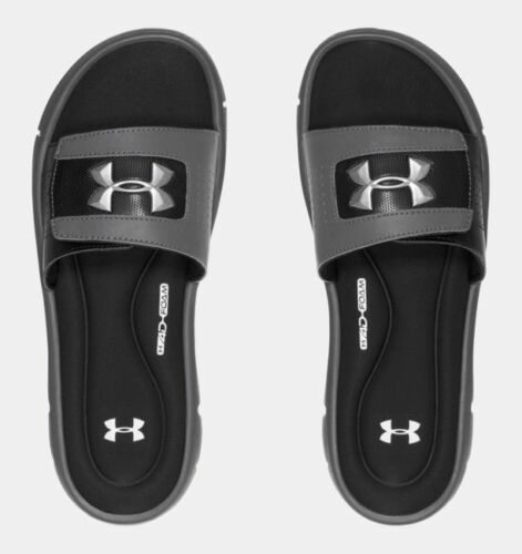 Under Armour Men/'s UA Ignite V Slides Sandals Many Colors and Sizes