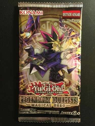 LED6 NEU/&OVP YUGIOH! Legendary Duelists: Magical Hero Booster 1st! DE