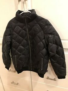 9947aaf0ee8 Women s Patagonia Prow Bomber Jacket - Size Medium Black Duck Down ...