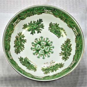 "Japanese Kutani-Style Porcelain Bowl w/ ""Fuku"" Mark   Excellent Condition"
