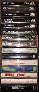 LOT-OF-15-LED-ZEPPELIN-amp-ROBERT-PLANT-CASSETTE-TAPES-1-4-CODA-HOUSES-OF-THE-HOLY