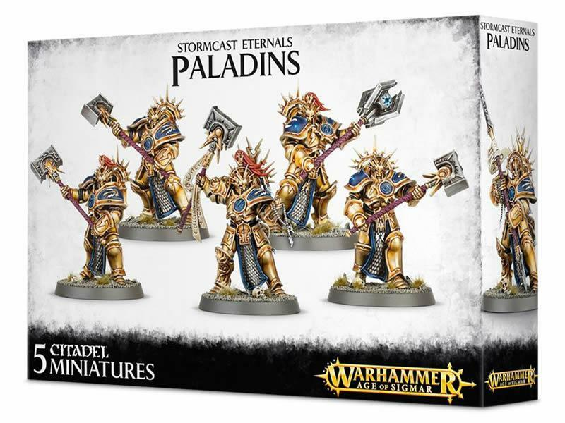 Stormcast Eternals Paladin Retributors (96-12)