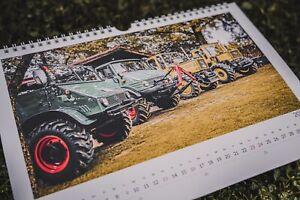 Mercedes Benz Unimog Kalender 2021 411 406 MB Trac 1500 ...