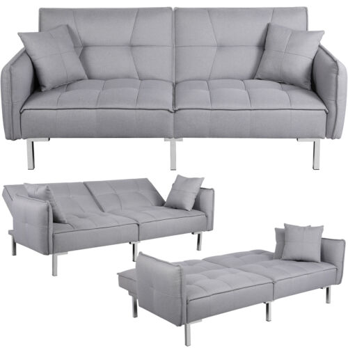 Futon Sofas Daybed Recliner Couches, Reclining Sofa Bed Couch