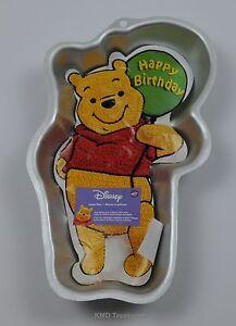 Image Is Loading Wilton Winnie The Pooh Cake Pan Happy Birthday