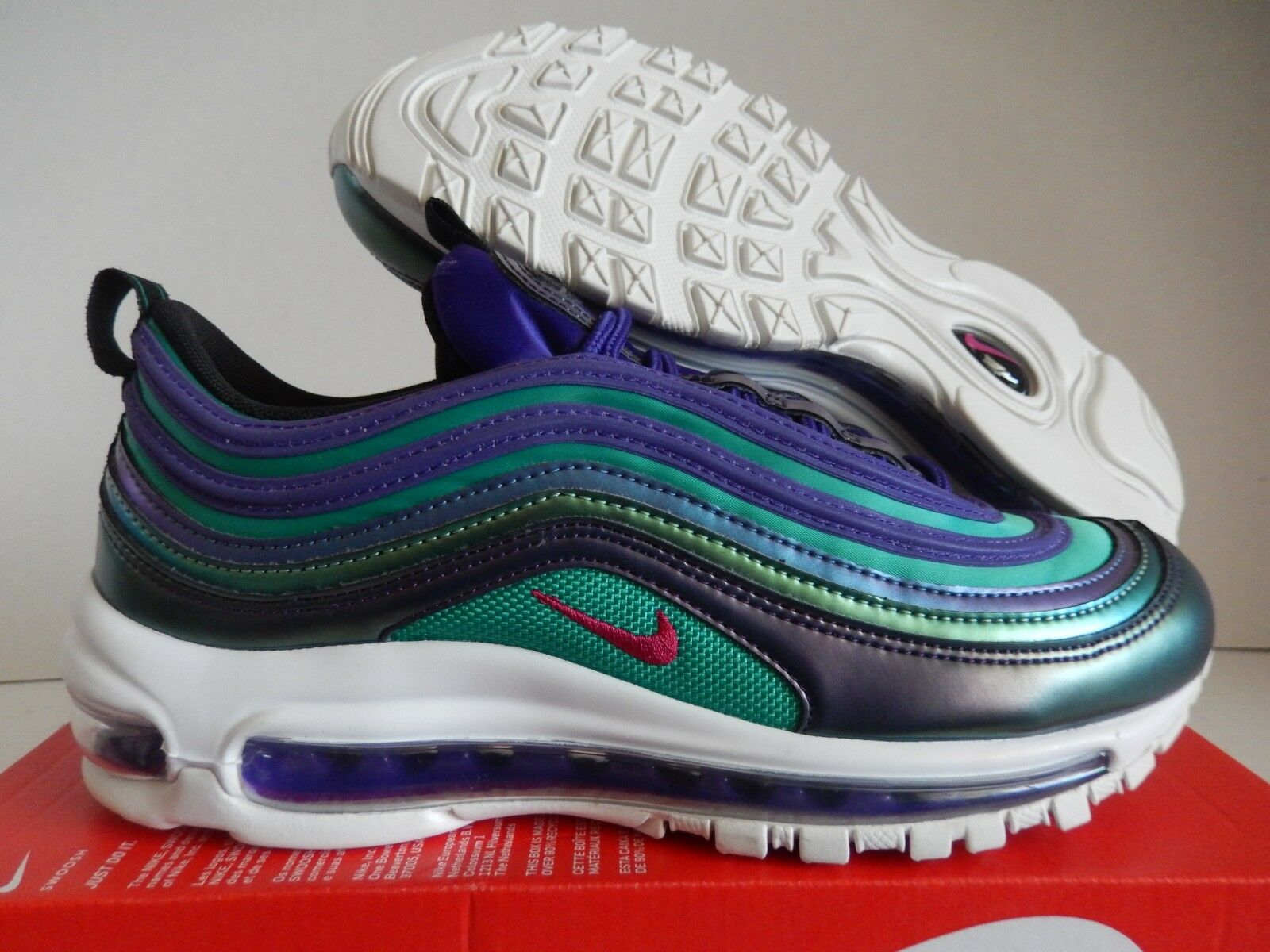 NIKE AIR MAX 97 SE (GS) COURT PURPLE-RUSH PINK SZ 5.5Y-WOMENS SZ 7 [AV3181-500]