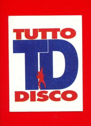 255 n TUTTO DISCO -New DISCOTECHE /'93 -Panini 1993- Figurine-stickers