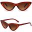 OCCHIALI-DA-SOLE-Vintage-Retro-GATTO-Cat-Eyewear-DONNA-SPECCHIO-Modello-2019 miniatura 12