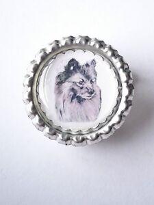Pomeranian Keyring by Curiosity Crafts