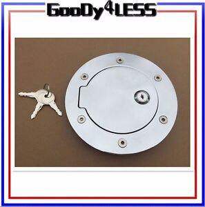 94-95-96-97-98-99-00-01-CHROME-BILLET-GAS-FUEL-DOOR-DODGE-RAM-1500-2500-PICKUP