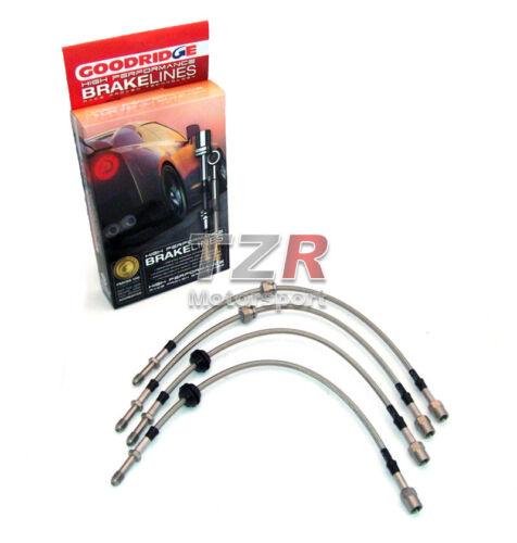 85-90 Turbo 124655 Goodridge Stahlflex Bremsleitung Toyota MR2 AW11 Bj