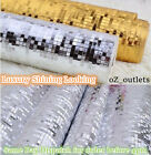 SILVER GOLD WALLPAPER ROLL DAMASK EMBOSSED 3D SHINING SHOP BUILDING HOME DECOR