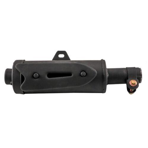 28mm Exhaust Pipe Muffler for Chinese ATV Quad Go Kart 50cc 70cc 90cc 110 125cc