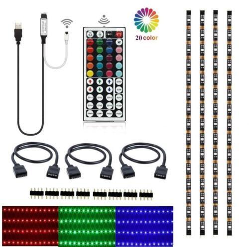 5050 RGB Background Lighting with 44 key Remote... Led TV Backlight Kit