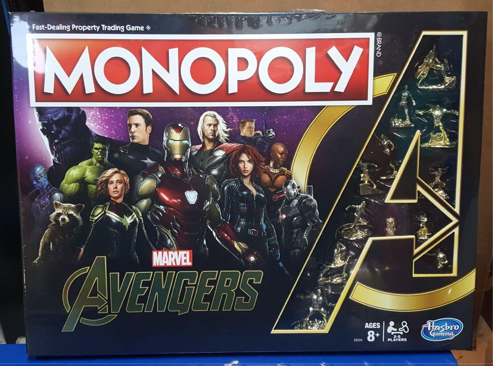 Nouveau Monopole Marvel Avengers oren Endgame Jeu De Plateau Édition spéciale dans la main