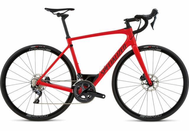 Carbon Fiber Frame Road Racing Bikes For Sale Ebay >> Specialized 2018 Roubaix Expert Gloss Red Flake Black 54cm Road Bike