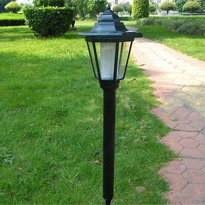 Solarbetriebene weiß Leuchtglobus Wandhalterung Boden Außen Garten Zaun Terrasse