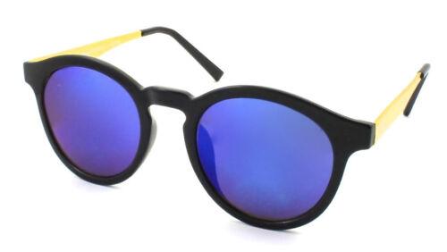 Round Vintage Retro Style Cat Eye Sunglasses Designer Gold Frame 400 Ray Generic