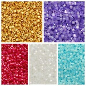 7g-Tube-of-MIYUKI-DELICA-11-0-Japanese-Glass-Cylinder-Seed-Beads-UK-seller