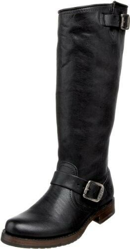 centro commerciale di moda NIB FRYE VERONICA Slouch Slouch Slouch nero Leather Leather Riding stivali Sz 7.5 Pull On  grandi risparmi