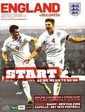 ENGLAND v Bulgaria (Euro 2012 Qualifier) 2010