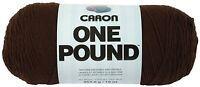 Caron One Pound Yarn 16 Ounce Espresso Single Ball Free Shipping
