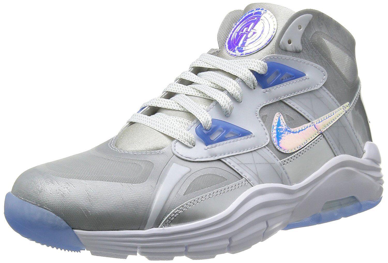 Nike Lunar 180 Sportivo Sc Prm Qs shoes (10) silver Metallizzato blue Ghiaccio