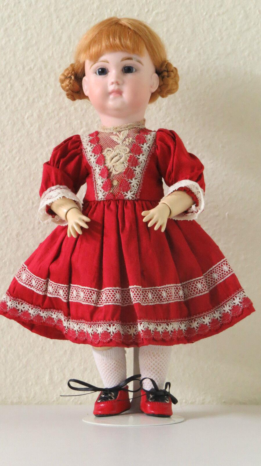 SCHMITT  29 cm   11,6 Inc    Ref  A   Poupée Ancienne Reproduction Antique doll