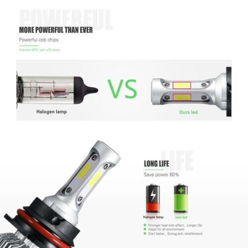 9007 HB5 COB LED Headlight Kit 320000LM High Low Beam Bulbs 6000K White 100W US