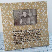 Magnolia Lane a Southern Girl Knows 12x12 Frame For 4x6 Print - Home Decor
