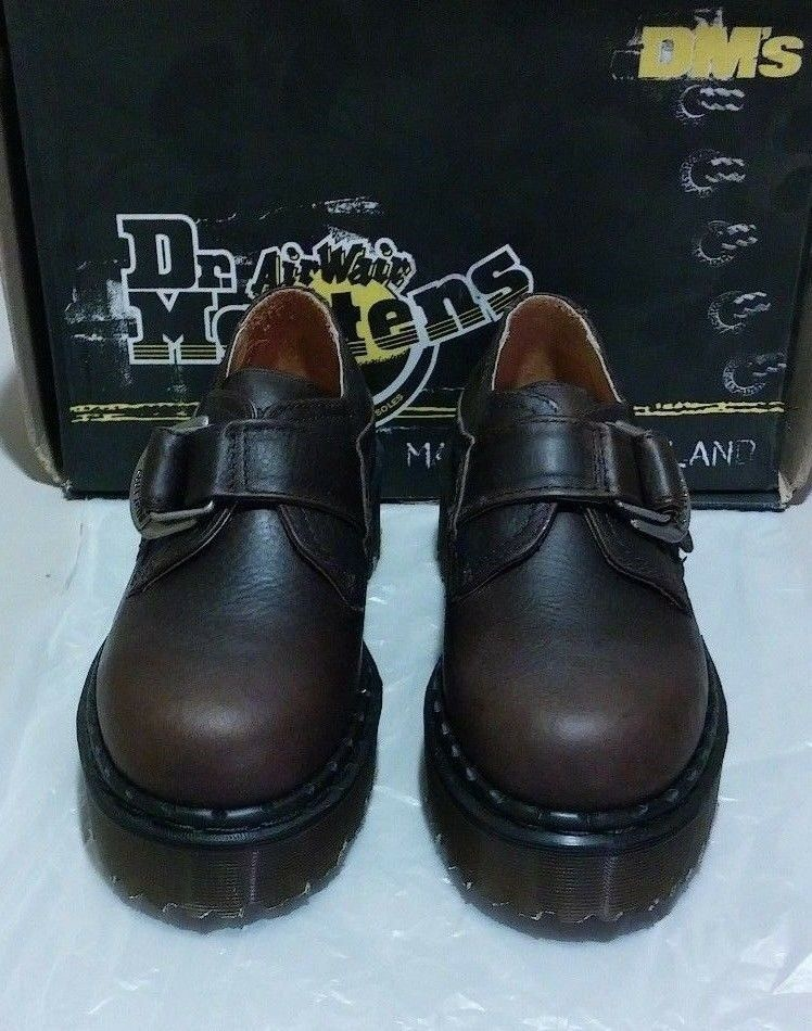 New Dr. 6 Martens Grizzly D-Ring 6 Dr. M Braun (1808) a4f549