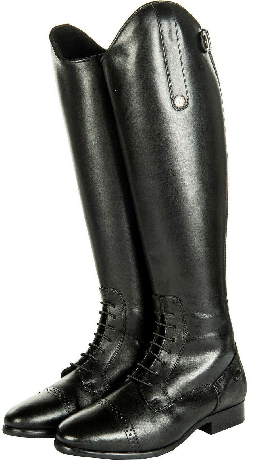 HKM Equestrian Ladies Mens Valencia Teddy Waterproof Standard Horse Riding Boots