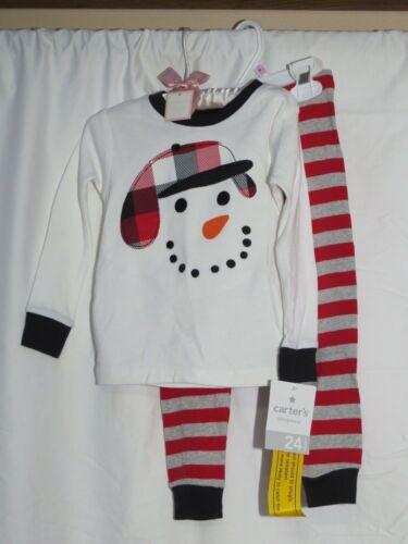 NWT Carter/'s Baby Boys Footed /& 2 Pcs Pajamas Christmas Newborn 3 6 9 18 24
