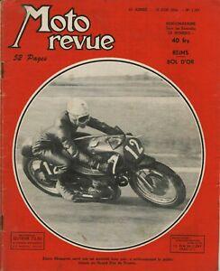 Moto-Zeitschrift-Nr-1191-Von-1954-Reims-Der-Bol-D-039-Or