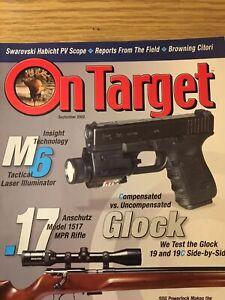 On Target Sept 2002, Anschultz Model 1517 MPR Rifle, Glock 19