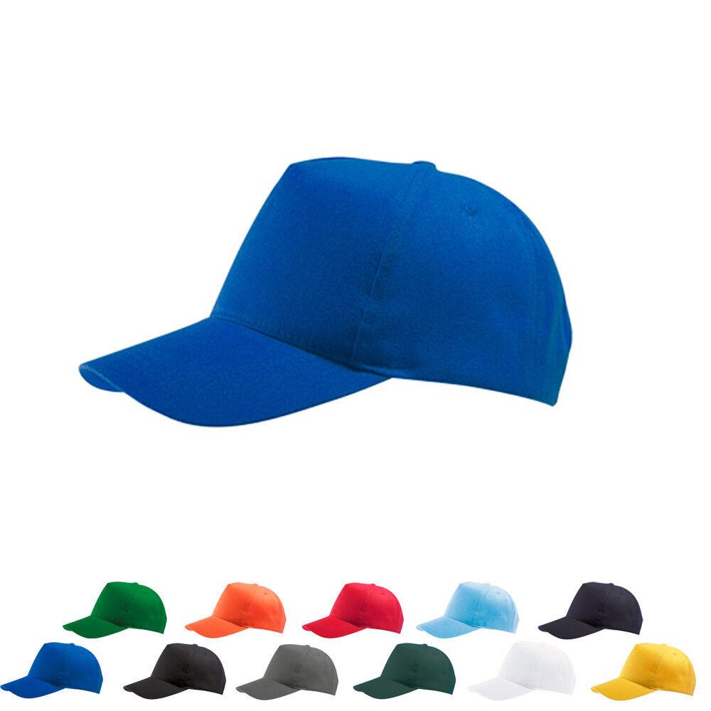 Sols Kappe BUZZ Baseball Basecap Mütze Five Panel Cap Einfarbig Neu 88119