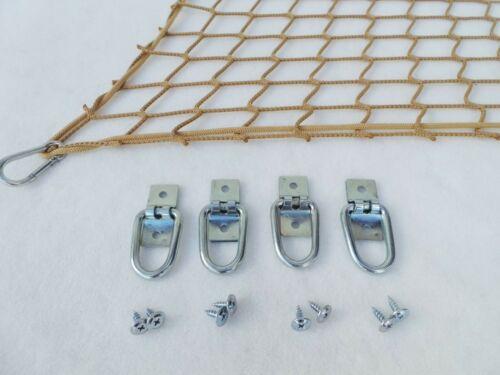 rete auto dimensioni 70x140 cm Tappetino Rete Rete di protezione Beige Bagaglio Rete