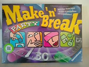 Ravensburger-26575-Make-N-Break-Party-Neu-noch-in-Folie-verschweist-OVP