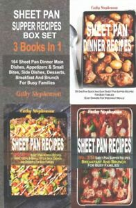Sheet-Pan-Supper-Recipes-Set-164-Sheet-Pan-Dinner-Main-Dishes-Appetizers-amp