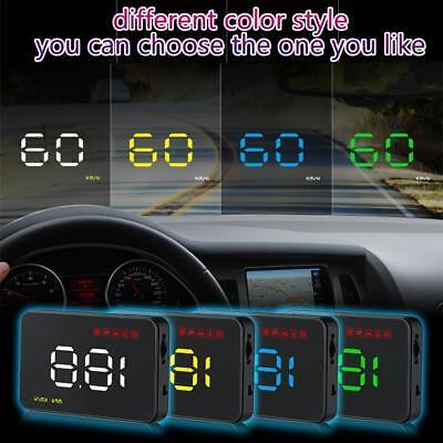 UK Universal GPS HUD Digital Head Up Display Car Truck Speedometer Speed Warning