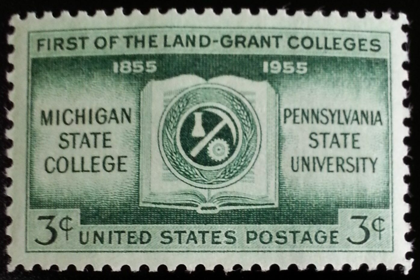 1955 3c Land Grant Colleges Centennial Scott 1065 Mint